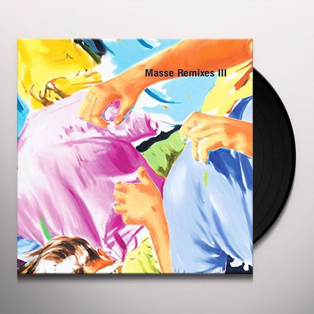 Henrik Schwarz MASSE REMIXES III (EP) Vinyl Record
