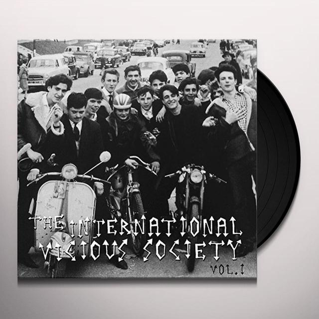 INTERNATIONAL VICIOUS SOCIETY 1 / VARIOUS Vinyl Record