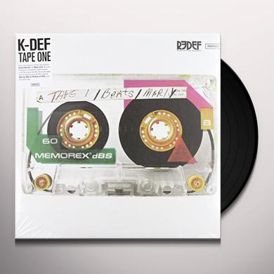 K-Def TAPE ONE Vinyl Record