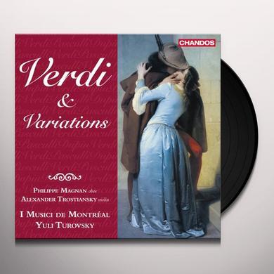 Verdi / Pasculli / Dupin / Magnan VERDI & VARIATIONS Vinyl Record