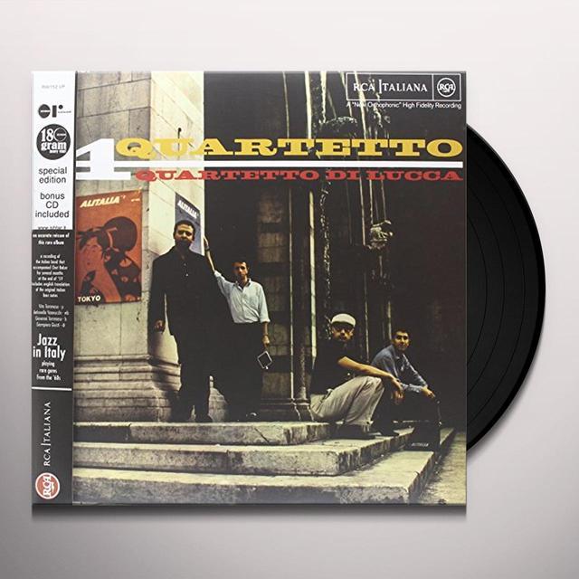 Quartetto Di Lucca QUARTETTO Vinyl Record