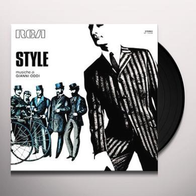 Gianni Oddi STYLE Vinyl Record - w/CD