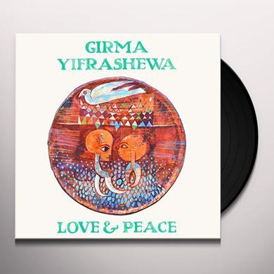 Girma Yifrashewa LOVE & PEACE Vinyl Record