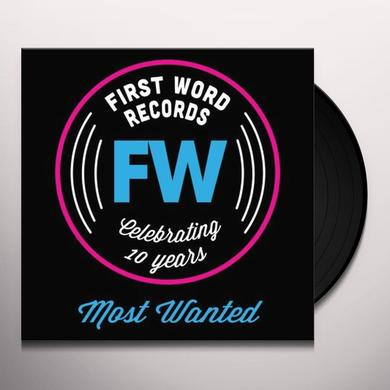 FW IS 10: MOST WANTED / VAR Vinyl Record - 10 Inch Single