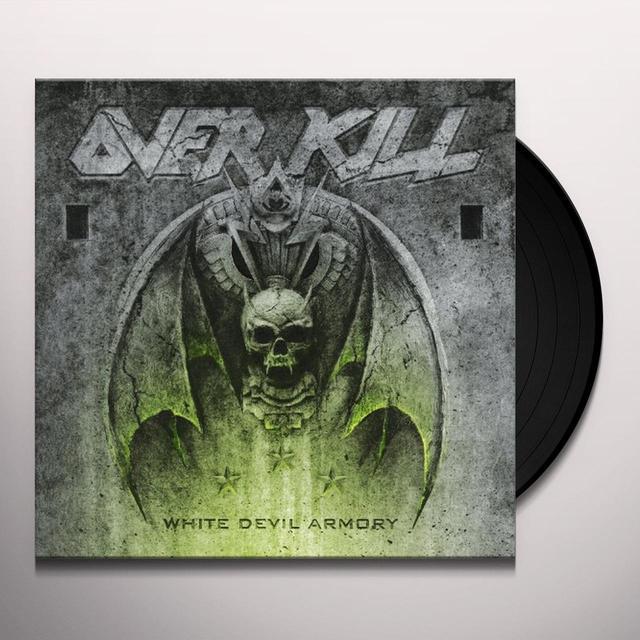 Overkill WHITE DEVIL ARMORY Vinyl Record - Holland Import