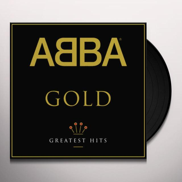 Abba GOLD: GREATEST HITS Vinyl Record