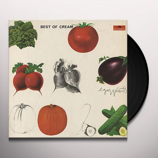 BEST OF CREAM Vinyl Record