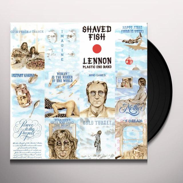 John Lennon SHAVED FISH Vinyl Record