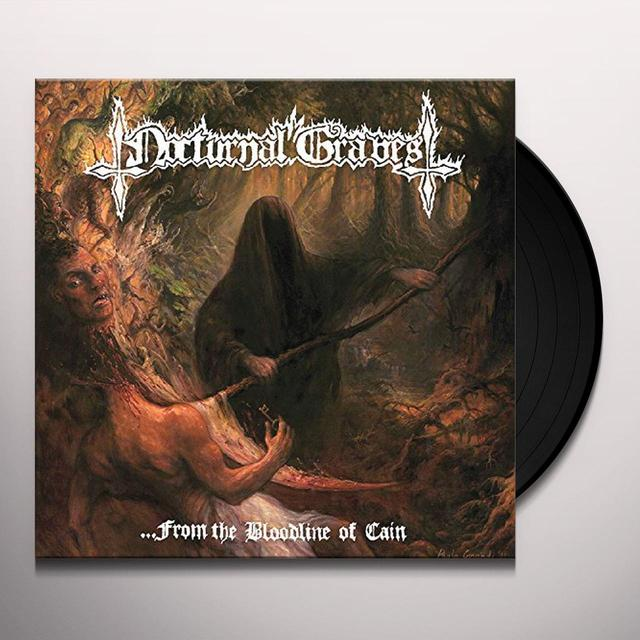 Nocturnal Graves FROM THE BLOODLINE OF CAIN Vinyl Record