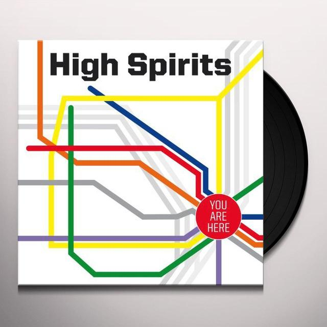 High Spirits YOU ARE HERE Vinyl Record
