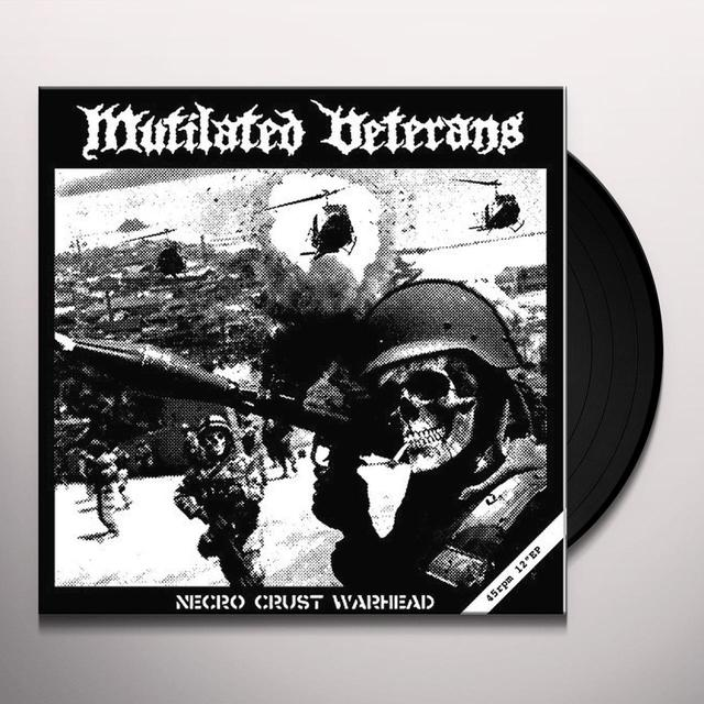 Mutilated Veterans NECRO CRUST WARHEAD Vinyl Record