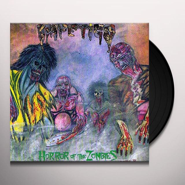 Impetigo HORROR OF THE ZOMBIES Vinyl Record