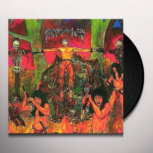 Impetigo ULTIMO MONDO CANNIBALE / FACELESS Vinyl Record