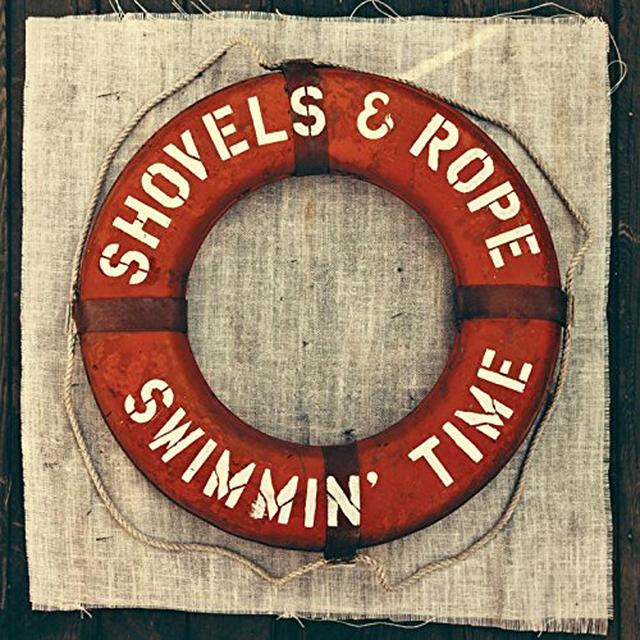 Shovels & Rope SWIMMIN TIME (BONUS CD) Vinyl Record - Clear Vinyl, 180 Gram Pressing