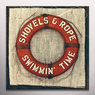 Shovels & Rope SWIMMIN TIME (BONUS CD) Vinyl Record - Clear Vinyl, 180 Gram Pressing