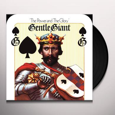 Gentle Giant POWER & THE GLORY (MIXED BY STEVEN WILSON) Vinyl Record