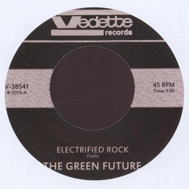 Green Future ELECTRIFIED ROCK Vinyl Record - UK Release