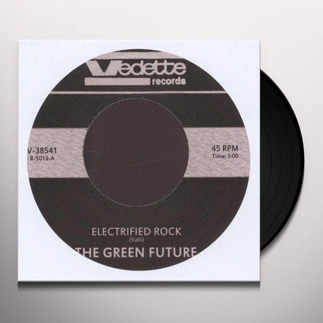 Green Future ELECTRIFIED ROCK Vinyl Record - UK Import