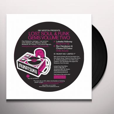 Lost Funk & Soul Gems Volume Two / Various (Uk) LOST FUNK & SOUL GEMS VOLUME TWO / VARIOUS Vinyl Record - UK Import