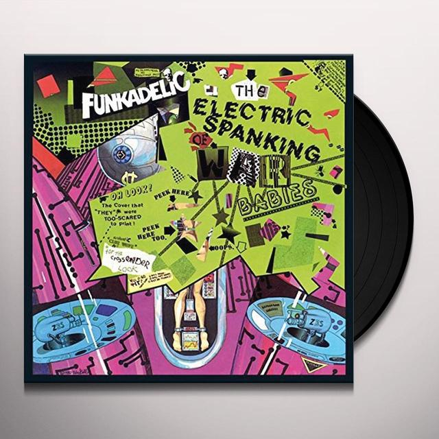 Funkadelic ELECTRIC SPANKING OF WAR BABIES Vinyl Record - UK Import