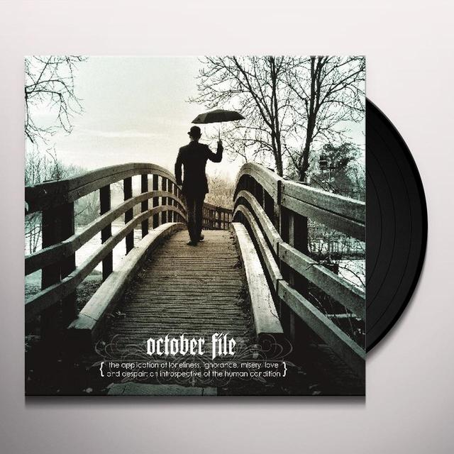 October File APPLICATION OF LONELINESS IGNORANCE (UK) (Vinyl)