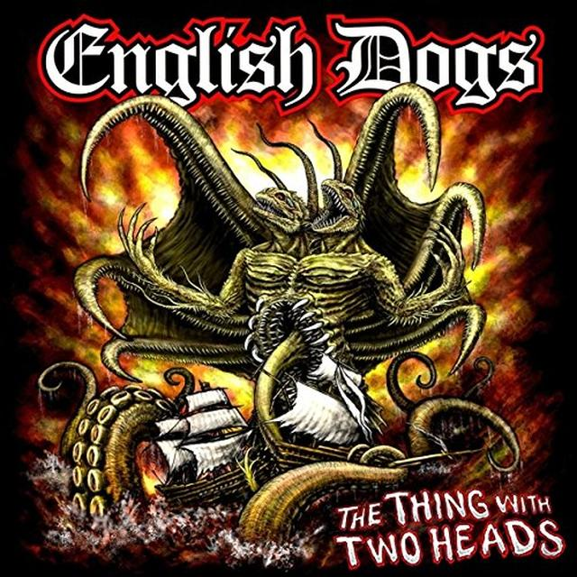 English Dogs THING WITH TWO HEADS Vinyl Record - UK Import