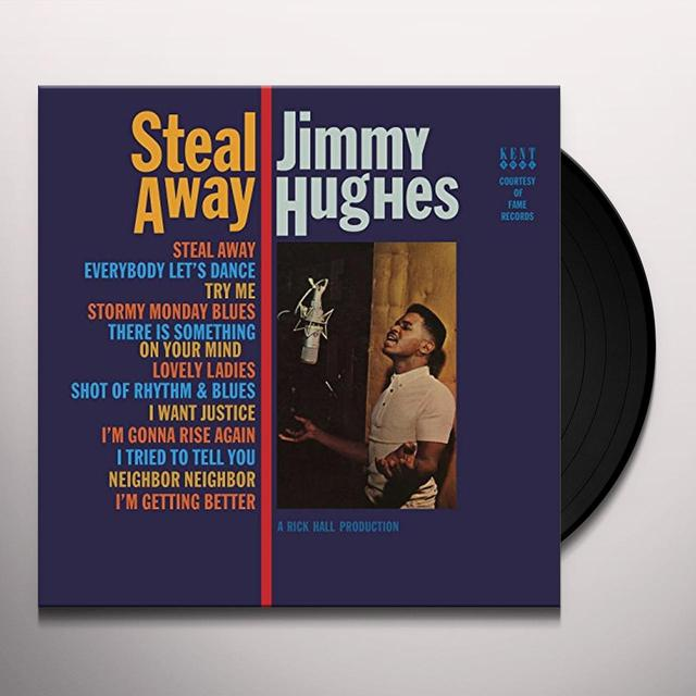 Jimmy Hughes STEAL AWAY Vinyl Record - UK Import
