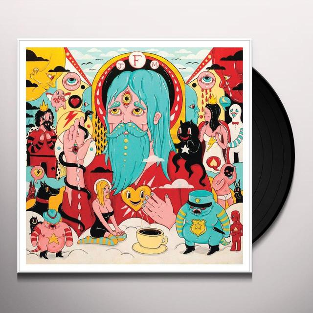 Father John Misty HOLLYWOOD FOREVER CEMETERY SING/DRIVE Vinyl Record - UK Import