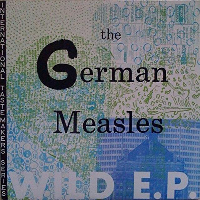 German Measles WILD E.P. Vinyl Record - Canada Import