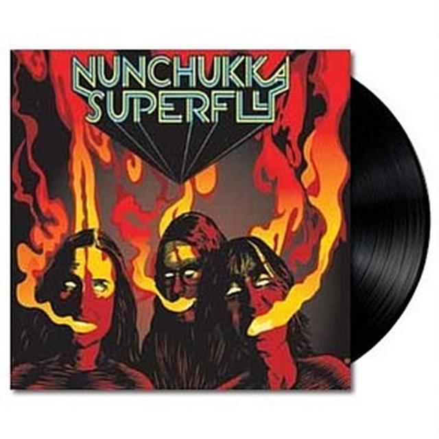 Nunchukka Superfly OPEN YOUR EYES TO SMOKE Vinyl Record - Australia Import