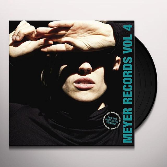 Meyer Records Vol.4 / Various (Uk) MEYER RECORDS VOL.4 / VARIOUS Vinyl Record