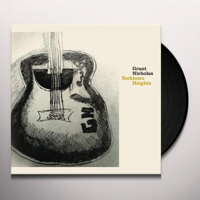 Grant Nicholas YORKTOWN HEIGHTS Vinyl Record - UK Release