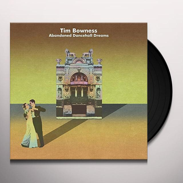 Tim Bowness ABANDONED DANCEHALL DREAMS Vinyl Record - UK Import
