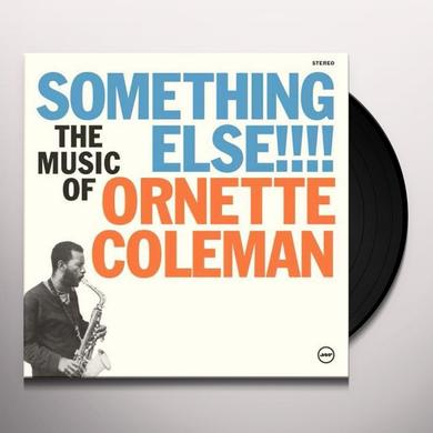 Ornette Coleman SOMETHING ELSE! Vinyl Record