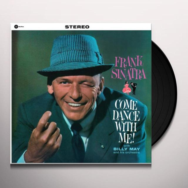 Frank Sinatra COME DANCE WITH ME Vinyl Record - Spain Import