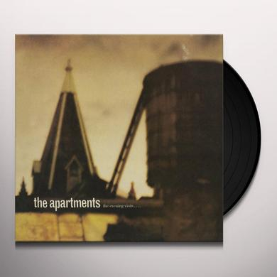 The Apartments EVENING VISITS? & STAYS FOR YEARS Vinyl Record - Canada Release