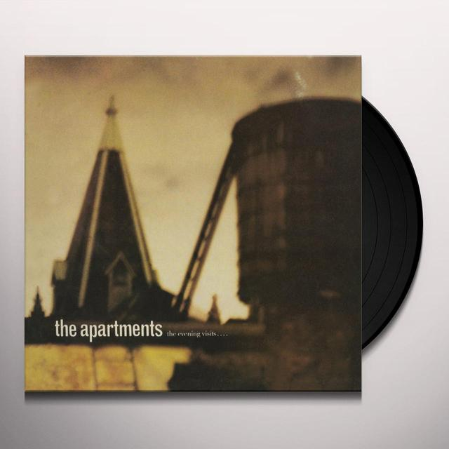 The Apartments EVENING VISITS? & STAYS FOR YEARS Vinyl Record - Canada Import