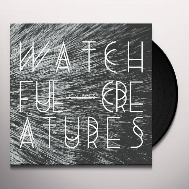 Hynes Jon WATCHFUL CREATURES CD Vinyl Record