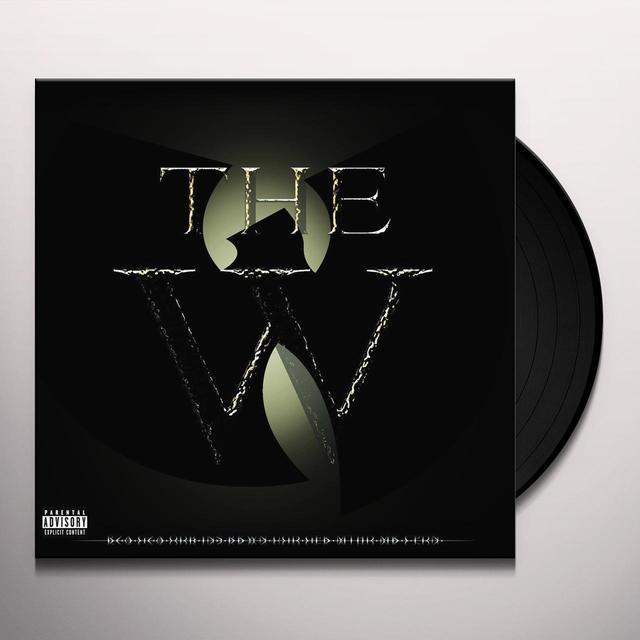Wu-Tang Clan W Vinyl Record