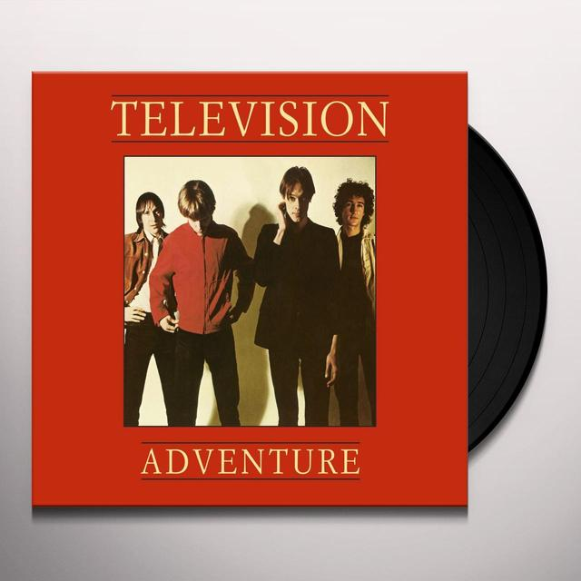 Television ADVENTURE Vinyl Record - UK Import