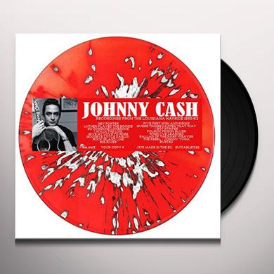 Johnny Cash RECORDINGS FROM THE LOUISIANA HAYRIDE 1955-62 Vinyl Record