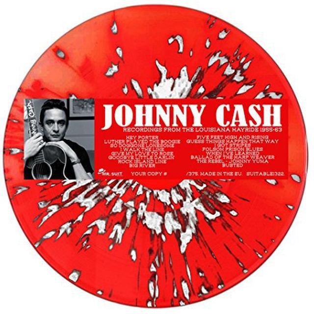 Johnny Cash RECORDINGS FROM THE LOUISIANA HAYRIDE 1955-62 Vinyl Record