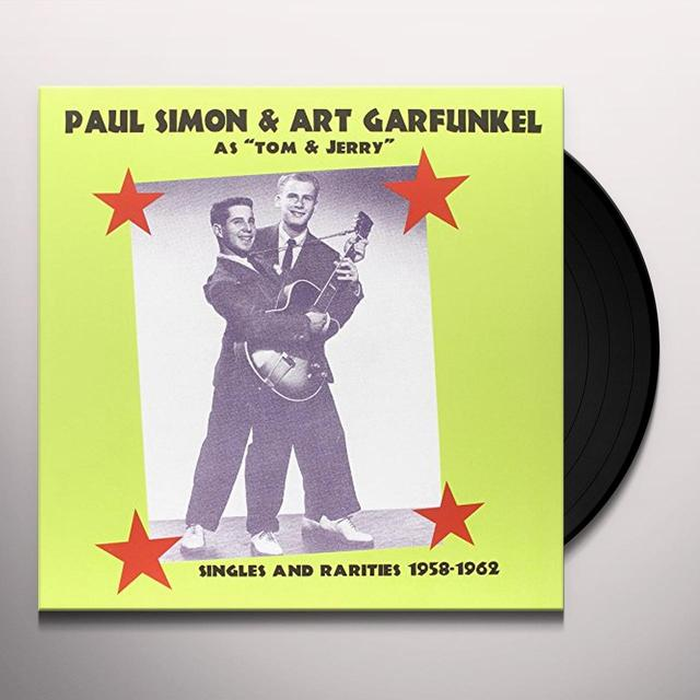 Paul Simon & Art Garfunkel SINGLES & RARITIES Vinyl Record - Italy Import