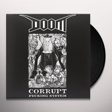 Doom CORRUPT FUCKING SYSTEM Vinyl Record - Italy Import