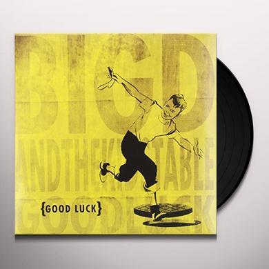 Big D & Kids Table GOOD LUCK Vinyl Record