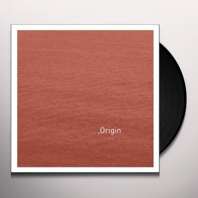 Savvas Ysatis / Taylor Deupree ORIGIN Vinyl Record