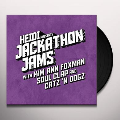 HEIDI PRESENTS JACKATHON JAMS WITH KIM ANN FOXMAN Vinyl Record