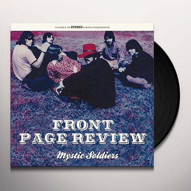 Front Page Review MYSTIC SOLDIERS Vinyl Record