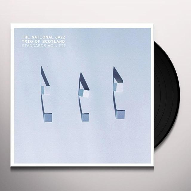 National Jazz Trio Of Scotland STANDARDS 3 Vinyl Record
