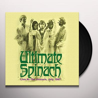 Ultimate Spinach LIVE AT THE UNICORN JULY 1967 Vinyl Record